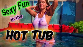 Sexy Hot Tub Fun