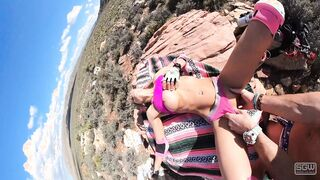 Hiking and Eating Pussy in Red Rock Canyon