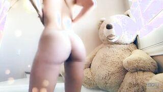 Sexy Bathtime with Teddy