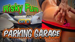 Risky Fun on a Parking Garage