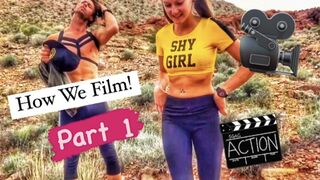 Behind the scenes of how we film Part 1 (Free to Watch)
