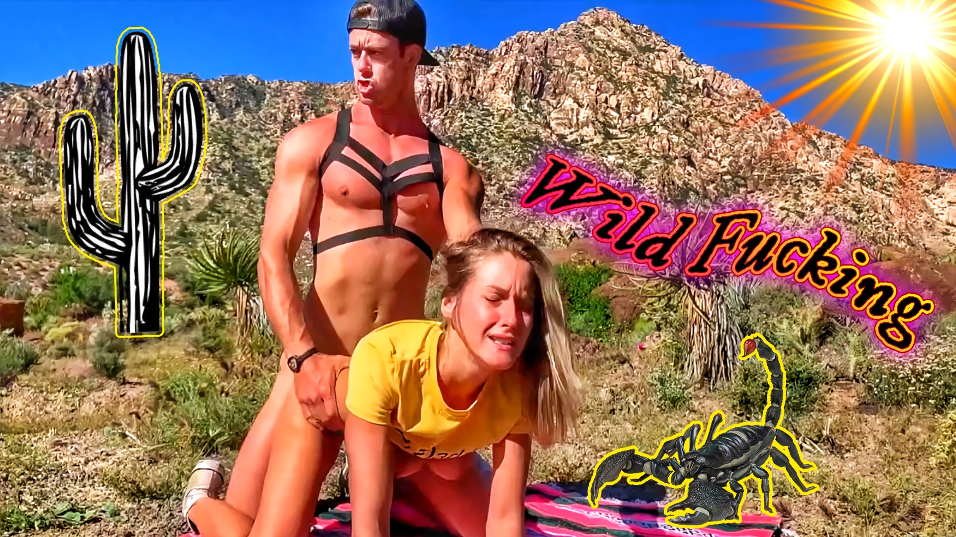 Hiking and Fucking in Thongs