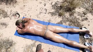 Tanning and Fucking in the Desert