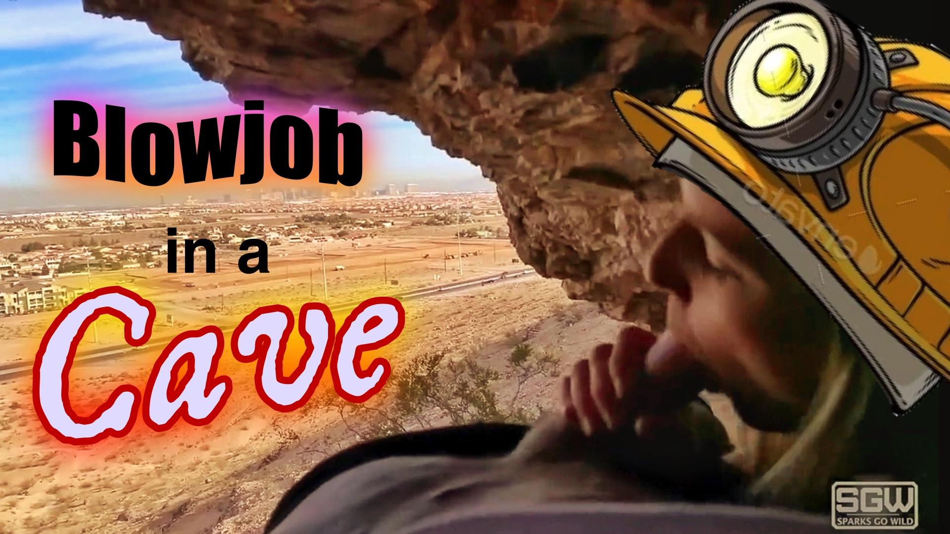 Blowjob in a Las Vegas Cave
